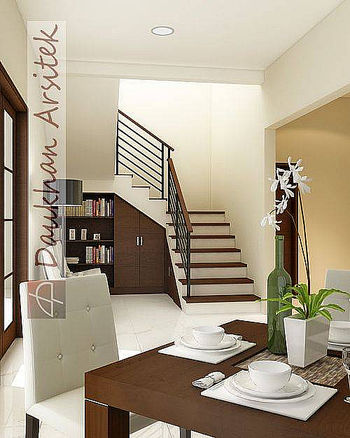 Rumah Modern Minimalis on Sketsa 3d Interior Rumah Modern Minimalis