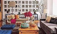 Warna Interior Ruang Keluarga