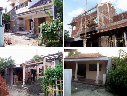 Renovasi Rumah Idaman bertema Minimalis di kota Bekasi, arsitek: Daukhan Permana Pekajangan