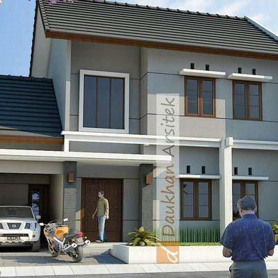 Bentuk Desain Rumah on Rumah Mungil   Daukhan Arsitek Com